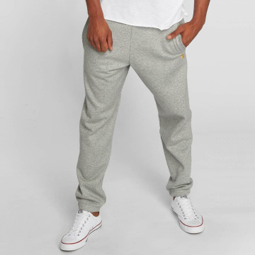 Carhartt WIP Sweat Pant Chase Cotton/Polyester Heavy Sweat grey