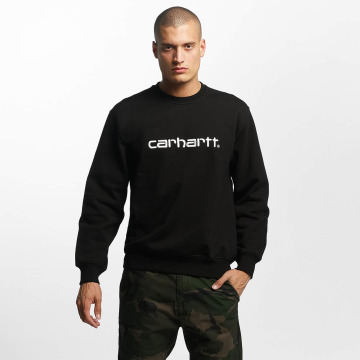 Carhartt WIP Swetry frequenzy czarny
