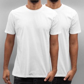 Carhartt WIP T-skjorter Standard Crew Neck hvit