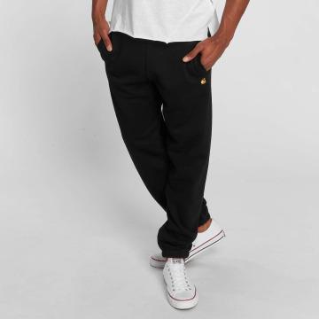 Carhartt WIP tepláky Chase Cotton/Polyester Heavy Sweat èierna
