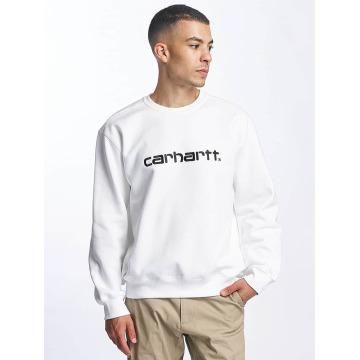 Carhartt WIP Tröja frequenzy vit