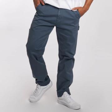 Carhartt WIP Tygbyxor WIP Millington Ruck Single Knee Regular Tapered Fit blå