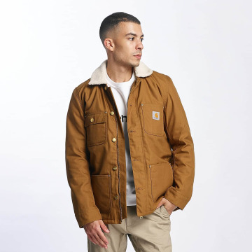 Carhartt WIP Winter Jacket Patterson Canvas brown