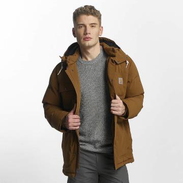 Carhartt WIP Zimní bundy Alpine Coat hnědý