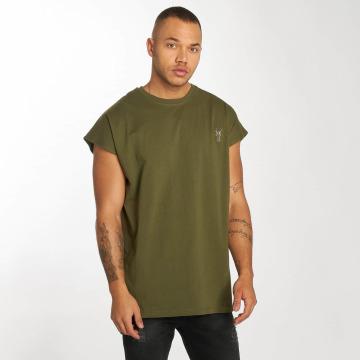 Cavallo de Ferro Camiseta Bat Sleeve oliva