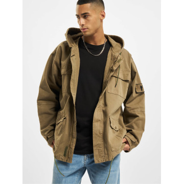 Cavallo de Ferro Lightweight Jacket Oversized olive
