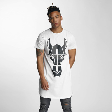 Cavallo de Ferro T-shirt longoversize Streets Long Oversize blanc