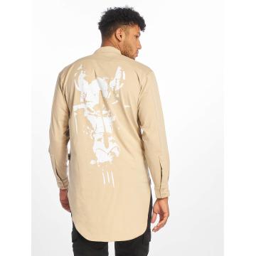 Cavallo de Ferro T-Shirt manches longues Big Logo beige