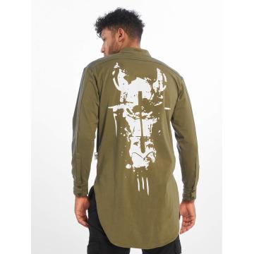 Cavallo de Ferro T-Shirt manches longues Big Logo olive