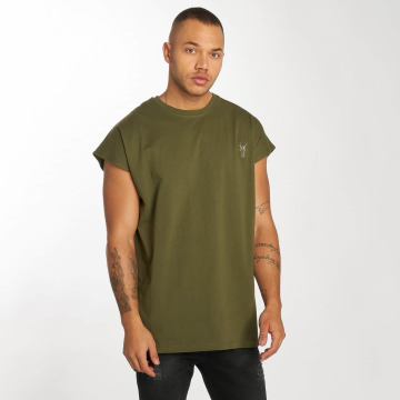 Cavallo de Ferro T-Shirt Bat Sleeve olive