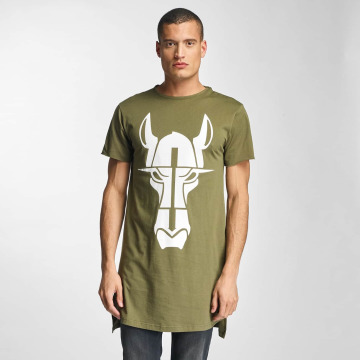 Cavallo de Ferro Tall Tees Streets Long olive