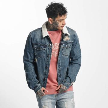 Cayler & Sons Демисезонная куртка ALLDD Sherpa Classic Denim синий