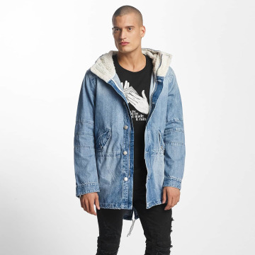 Cayler & Sons Пальто ALLDD Sherpa Denim синий