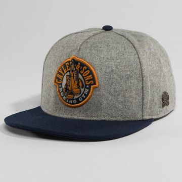 Cayler & Sons Casquette Snapback & Strapback Classic Boxing Gym gris