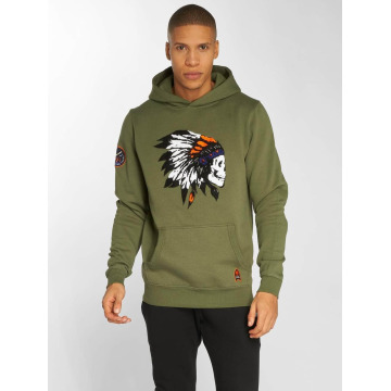 Cayler & Sons Hoodie CSBL Patched olive