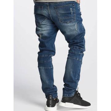 Cayler & Sons Slim Fit Jeans ALLDD Paneled Denim blau