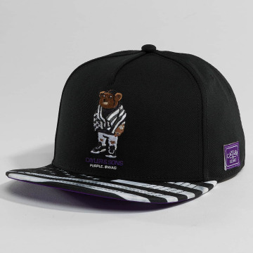 Cayler & Sons Snapback Cap WL Purple Swag schwarz