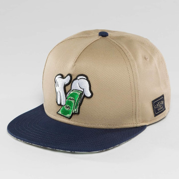 Cayler & Sons Snapbackkeps WL Make It Rain beige