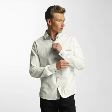 Cazzy Clang Camicia Squares bianco