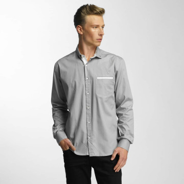 Cazzy Clang Camisa Squares gris