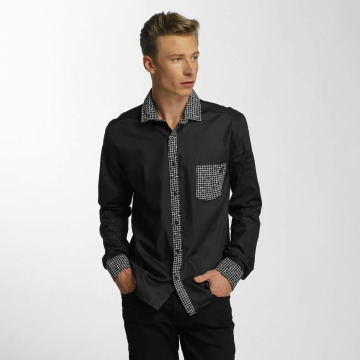 Cazzy Clang Camisa Plaid negro