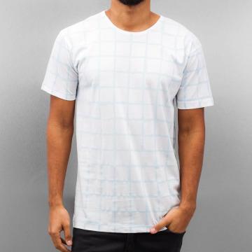 Cazzy Clang Camiseta Checked III blanco