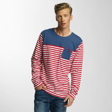 Cazzy Clang Longsleeve Stripes rot