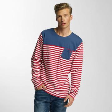 Cazzy Clang Maglietta a manica lunga Stripes rosso