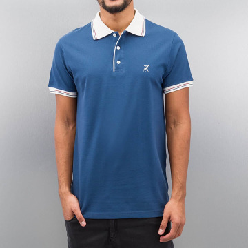 Cazzy Clang poloshirt Damp blauw