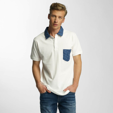 Cazzy Clang poloshirt Point wit