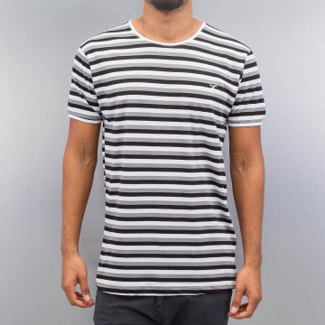 Cazzy Clang T-shirts Super Stripes hvid
