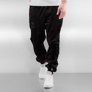 CHABOS IIVII Pantalón deportivo Core Velour Samt negro