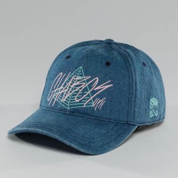 CHABOS IIVII Snapback Caps Pyramid blå