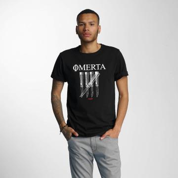 CHABOS IIVII T-shirt Omerta nero