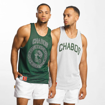 CHABOS IIVII Tank Tops Reversible Mesh Jersey зеленый