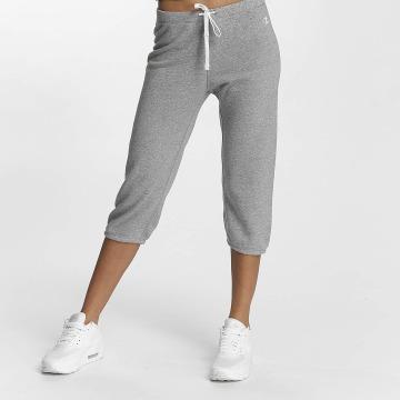 Champion Athletics Спортивные брюки Apparel 3/4 Elastic Cuff серый