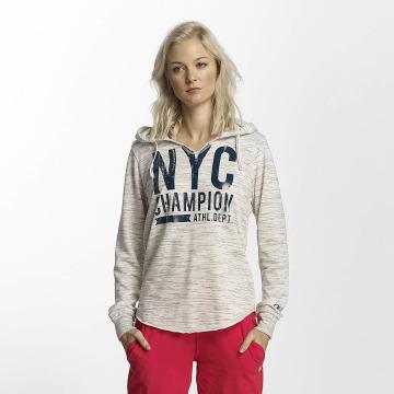 Champion Athletics Felpa con cappuccio Central Park bianco