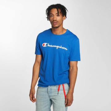 Champion Athletics T-Shirty Crew Neck niebieski