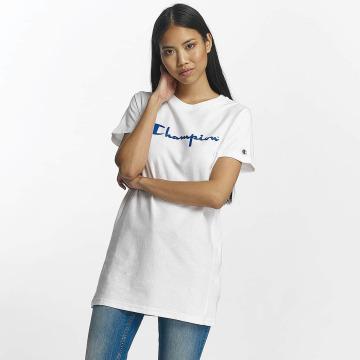 Champion Camiseta Champion Logo T-Shirt blanco