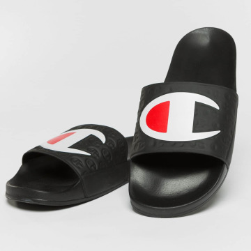 Champion Chanclas / Sandalias Pool negro