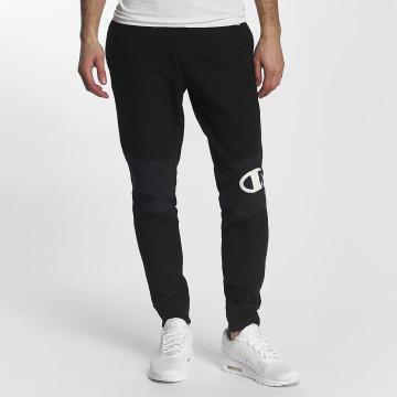 Champion Pantalone ginnico Rib Cuff Block nero