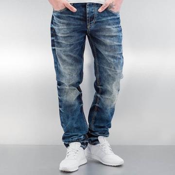 Cipo & Baxx Dżinsy straight fit Stevenage niebieski