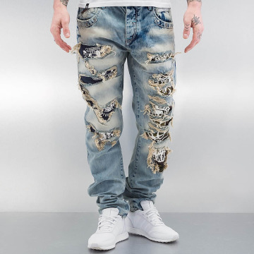 Cipo & Baxx Jeans straight fit Exeter blu