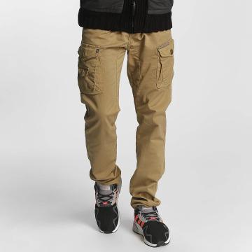 Cipo & Baxx Látkové kalhoty William béžový