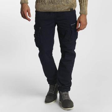 Cipo & Baxx Látkové kalhoty William modrý