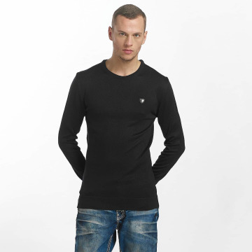 Cipo & Baxx Pullover Basic blau