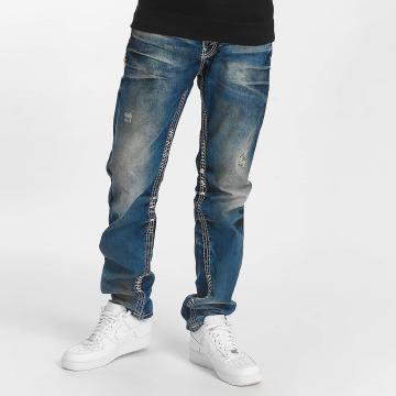 Cipo & Baxx Rovné Straight modrá