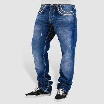 Cipo & Baxx Straight Fit Jeans Simba blå