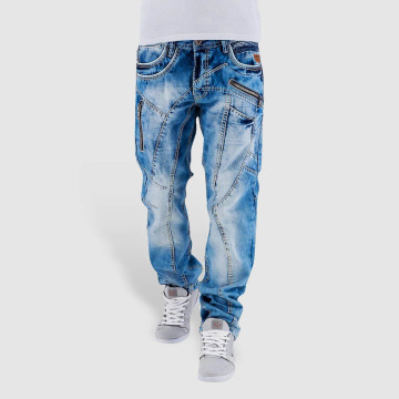 Cipo & Baxx Straight Fit Jeans Sinno blau