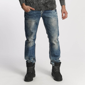 Cipo & Baxx Straight Fit Jeans Used blau